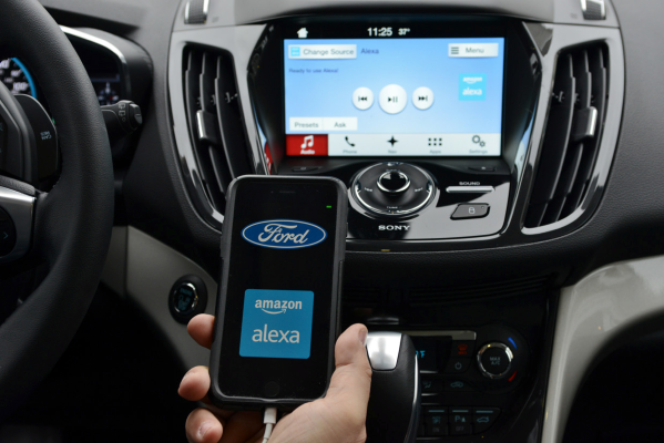 Ford and Amazon Echo / Alexa
