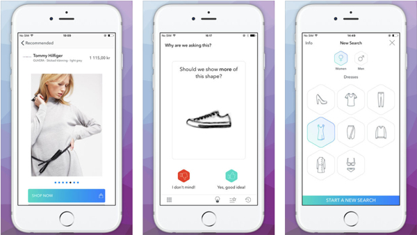 wholesale dealer ad704 f4fec Zalando's Fashionflow is a Tinder-like Fashion Shopping App ...