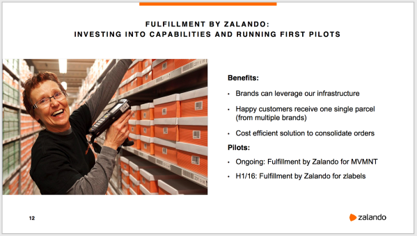 Fulfillment by Zalando