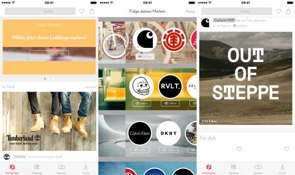 Zalando Fleek App
