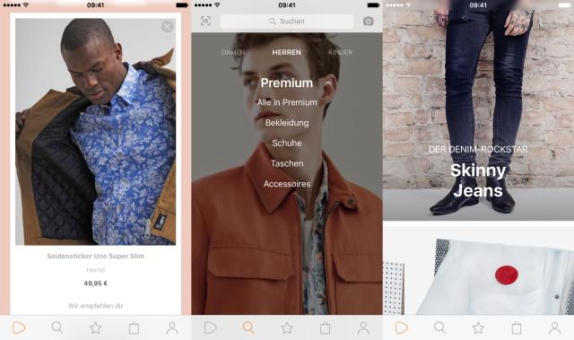 Zalando's mobile app