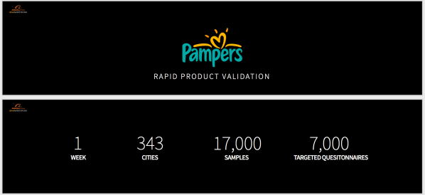 Pampers rapid product validation