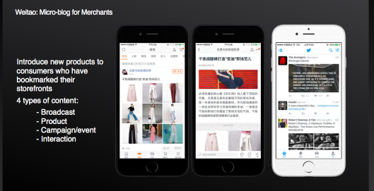 Weitao - Microblog for merchants at Alibaba
