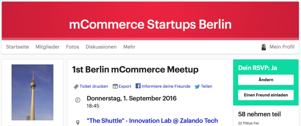 mcommerce meetup