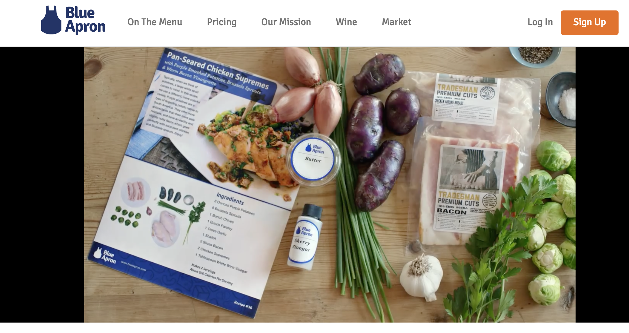 Blue apron login