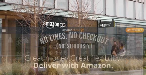 Amazon Go + Amazon Flex