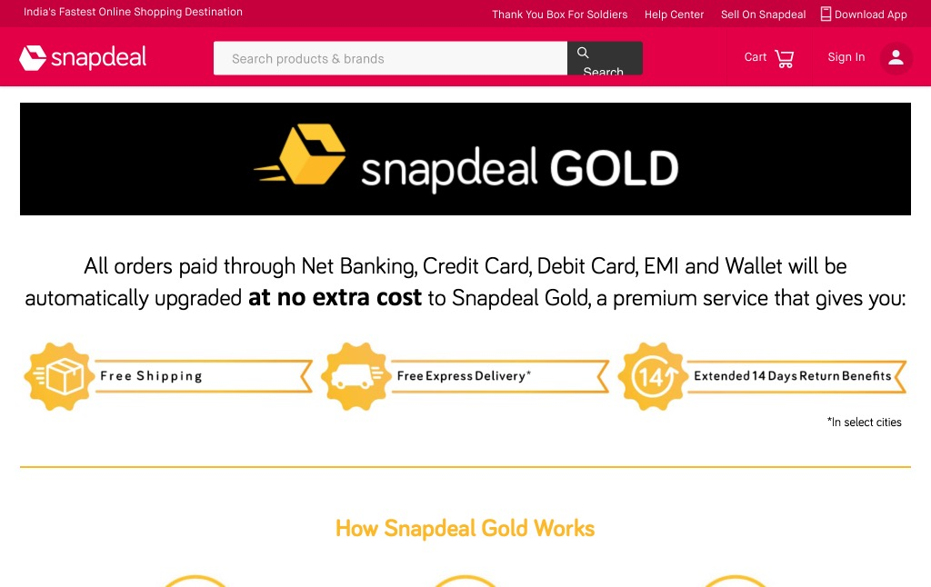 Snapdeal Shows What Walmart Should Have Done With ShippingPass