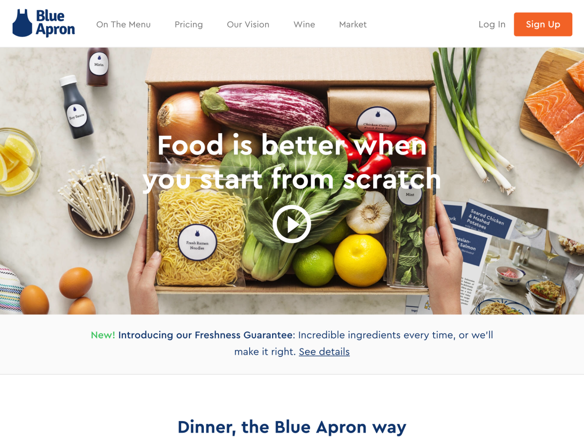 Blue apron growth - Blue Apron And Hellofresh Are At Subscale To Expensive See Cooling Growth Early Moves