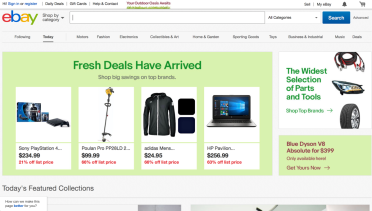 Ebay Finally Stopped Selling Third Party Ads On Its Marketplace In The Us Early Moves