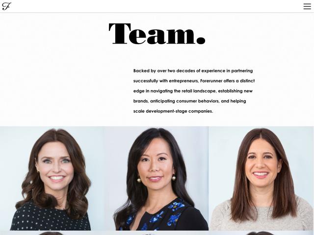 Forerunner Ventures Team