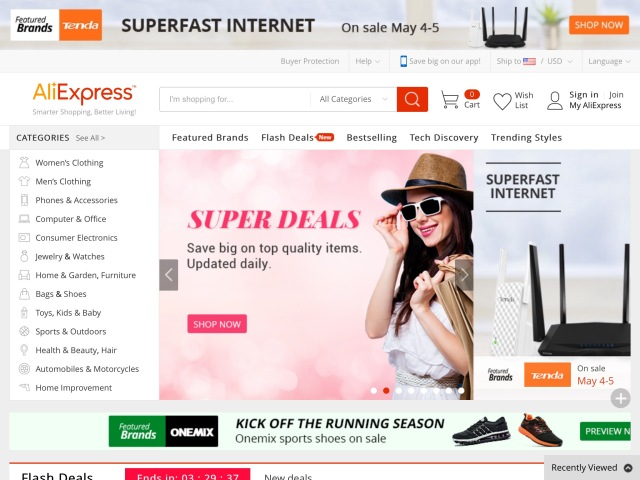 Alibaba Wants to Dominate Russia Too: AliExpress Expands in Russia With One-Day Delivery