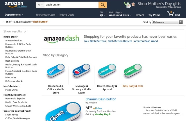 """""""To Make Shopping Disappear"""": More Brands Get 50+% of Amazon Orders Through Dash Buttons"""