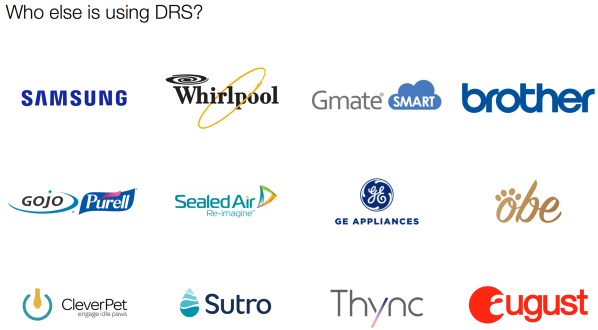 Brands partnering with Amazon DRS