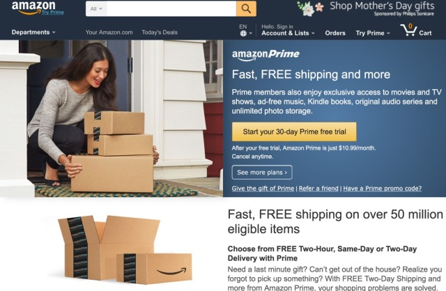 Amazon Prime Doubles in Size in Two Years, Over 25% of Subscribers Paying Monthly Already