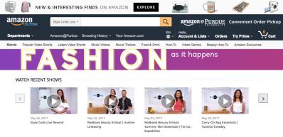 Amazon Style Code Live