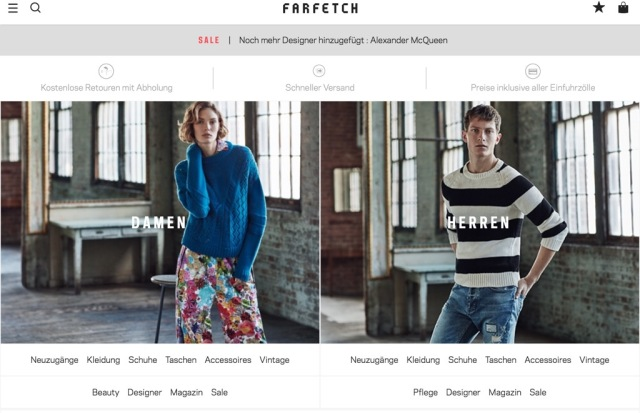 Two Reasons Why JD.com Invests $397 Mio. In Farfetch