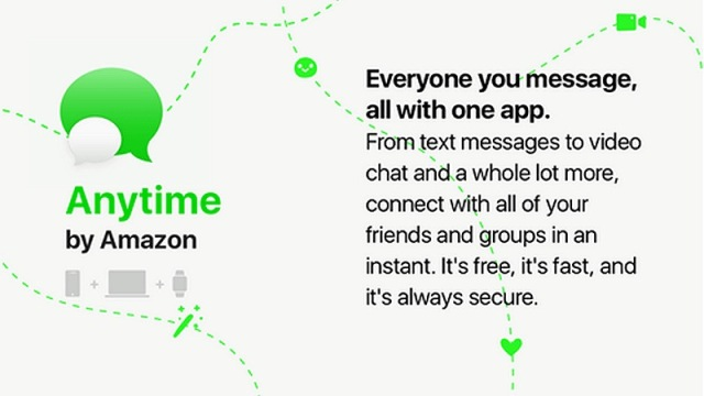 Anytime: When Amazon Is Building a WeChat-Like Messaging App