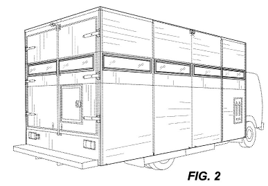 Amazon Treasure Truck Patent