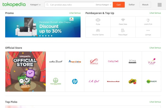 Alibaba and JD.com Are Bidding Against Each Other to Invest in Indonesia's Tokopedia