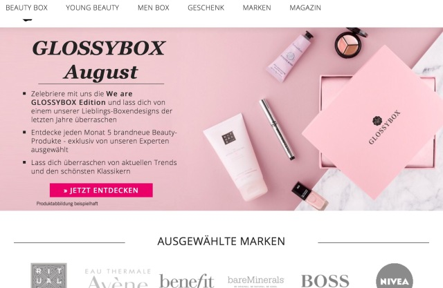 The Hut Group Is Also Buying Glossybox, the German Birchbox