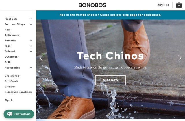 Bonobos Founder Talks About Why He Sold to Walmart at #CodeCommerce