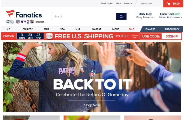 Fanatics and the Rise of E-Commerce Top Investor Softbank